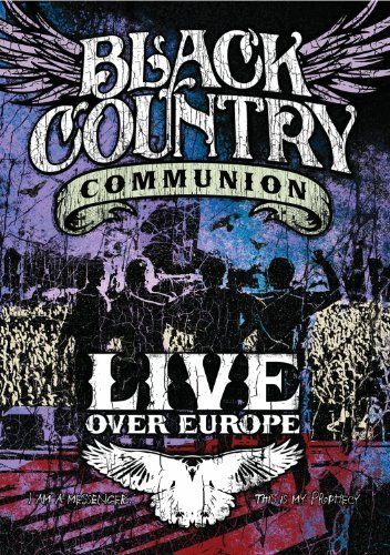 Black Country Communion Live Over Europe Ws 2 DVD