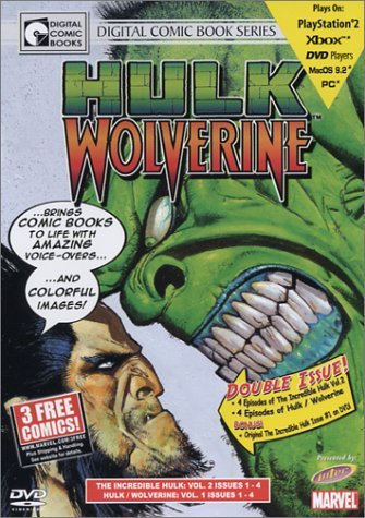 Hulk Wolverine Vol. 1 DVD Graphic Novel