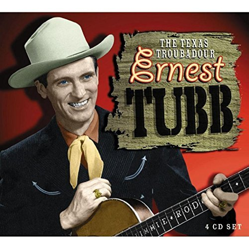 Ernest Tubb Texas Troubadour Import Gbr 4 CD