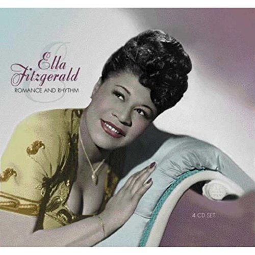 Ella Fitzgerald Romance & Rhythm Import Gbr 4 CD Set