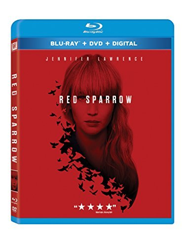 Red Sparrow Lawrence Edgerton Blu Ray DVD Dc R