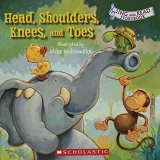 Scholastic Head Shoulders Knees & Toes Sing & Read Storybook