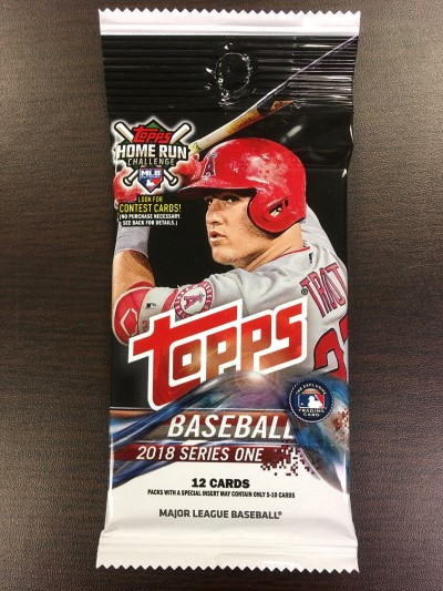 Trading Cards Topps Mlb '18 Series 1