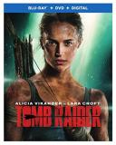 Tomb Raider (2018) Vikander West Blu Ray DVD Dc Pg13