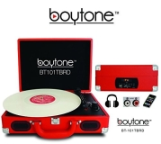 Turntable 5 In 1 Boytone Bt 101tbrd Briefcase Record Player