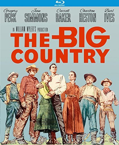 Big Country Wyler Peck Blu Ray Nr