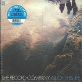 The Record Company All Of This Life (clear Blue Marble Vinyl) Indie Exclusive Ltd To 2000