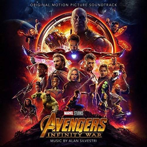 Avengers Infinity War Original Motion Picture Soundtrack Alan Silvestri