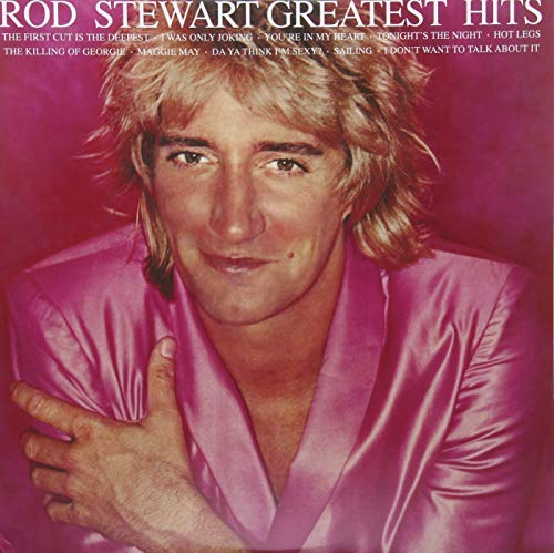 Rod Stewart Greatest Hits Vol. 1 Pink Vinyl Back To The 80's Exclusive