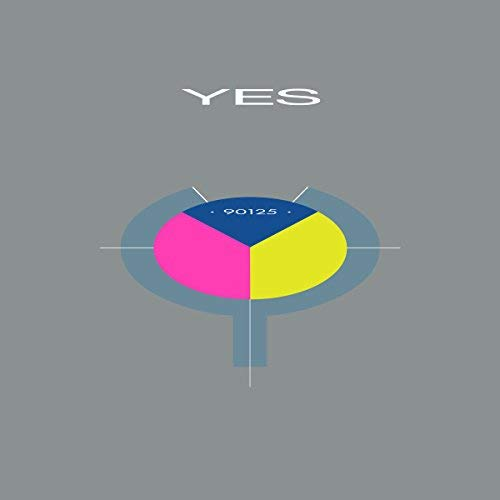 Yes 90125 (tri Color Pink Yellow Blue Vinyl) Colored Vinyl Back To The 80's Exclusive