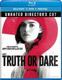 Truth Or Dare Hale Posey Beane Blu Ray DVD Dc Pg13