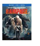 Rampage Johnson Harris Morgan Blu Ray DVD Dc Pg13