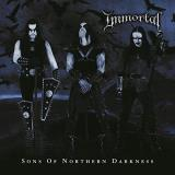 Immortal Sons Of Northern Darkness (black Blue Swirl) Reissue Gatefold Black Blue Swirl Limited To 1 500 World