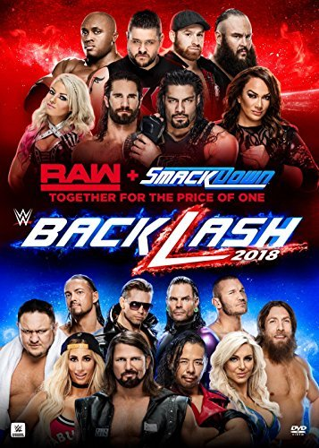 Wwe Payback Backlash 2018 DVD