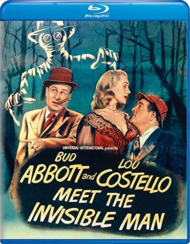 Abbott & Costello Meet The Invisible Man Abbott Costello Blu Ray Nr
