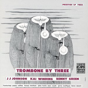 Johnson Winding Green Trombone By Three