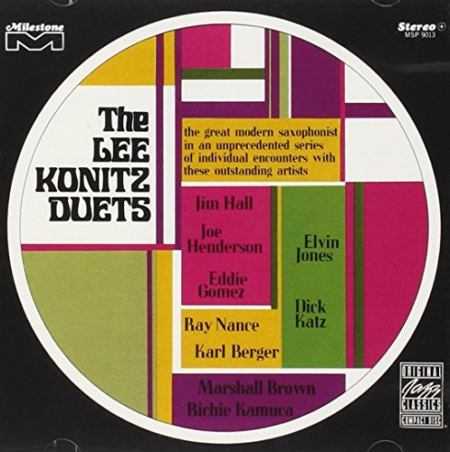 Lee Konitz Lee Konitz Duets