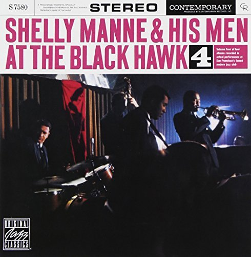 Shelly Manne Vol. 4 At The Black Hawk CD R