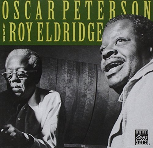 Peterson Eldridge Oscar Peterson & Roy Eldridge CD R