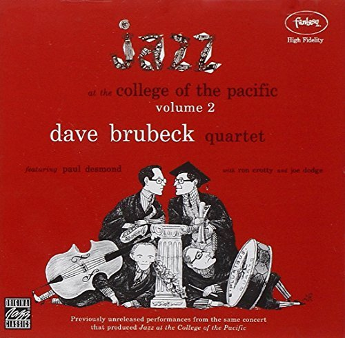 Dave Quartet Brubeck Vol. 2 Jazz At The College Of