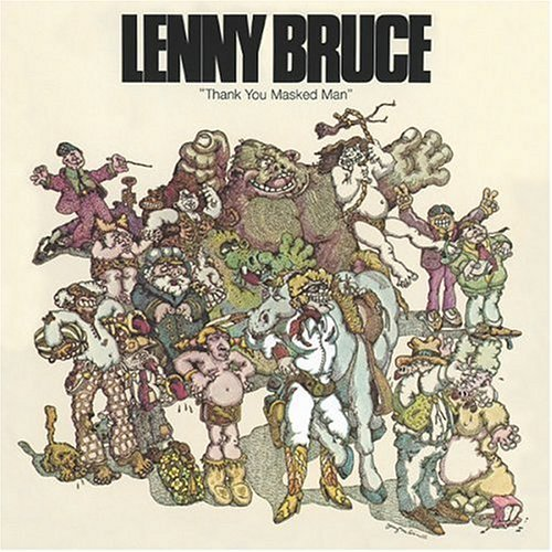 Lenny Bruce Thank You Masked Man Enhanced CD