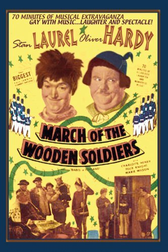 March Of The Wooden Soldiers Laurel Hardy Clr Nr