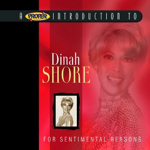 Dinah Shore For Sentimental Reasons Remastered Digipak