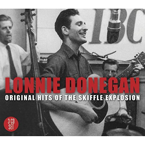 Lonnie Donegan Original Hits Of The Skiffle E Import Gbr 3 CD Set
