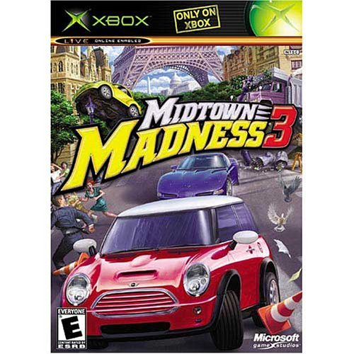 Xbox Midtown Madness 3 Online Playable