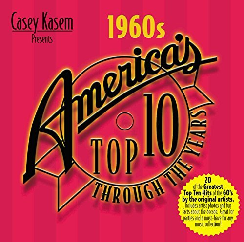 Casey Kasem Presents America's 1960's Americas Top 10 Spremes Monkees Turtles Casey Kasem America's Top 10