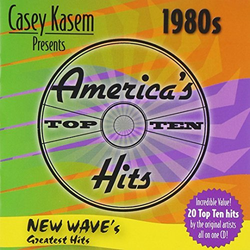 Casey Kasem Presents America's 80s New Wave's Greatest Hits Duran Duran Soft Cell Fixx Casey Kasem America's Top 10