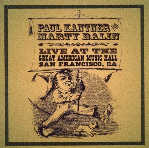 Paul & Marty Balin Kantner Great American Music Hall 2 CD