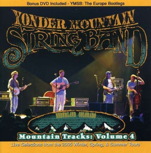 Yonder Mountain String Band Vol. 4 Mountain Tracks Incl. Bonus DVD