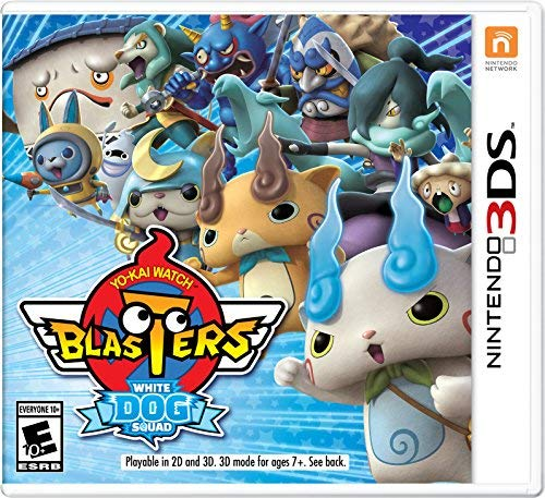 Nintendo 3ds Yo Kai Watch Blasters White Dog Squad