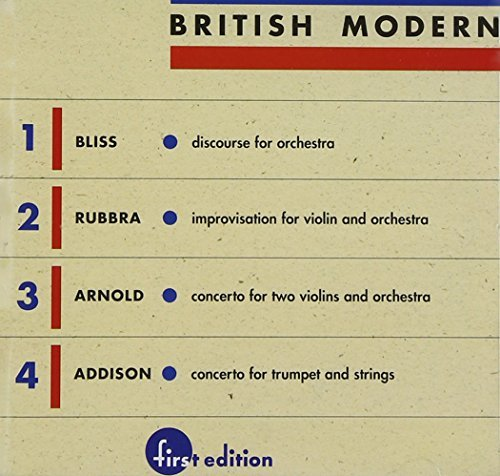 Bliss Rubbra Arnold Addis British Modern Vol. 1 Whitney & Mester Louisville So