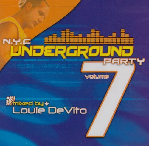 Louie Devito Vol. 7 Nyc Underground Party 2 CD Set