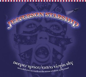 Jefferson Starship Deeper Space Extra Virgin Sky 2 CD Set 2 On 1