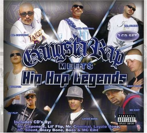 Gangsta Rap Meets Hip Hop Lege Gangsta Rap Meets Hip Hop Lege Explicit Version 3 CD