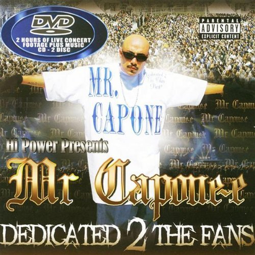 Mr. Capone E Dedicated 2 The Fans Explicit Version Incl. Bonus DVD