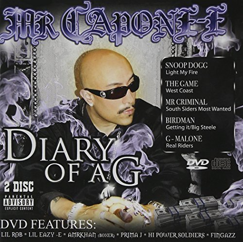 Mr. Capone E Diary Of A G Explicit Version Incl. Bonus DVD