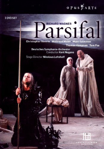 Richard Wagner Parsifal Comp Opera 3 DVD Ventris Meier Salminen Nagano Berlin Deutsches So