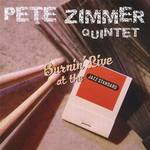 Pete Quintet Zimmer Burnin' Live At The Jazz Stand