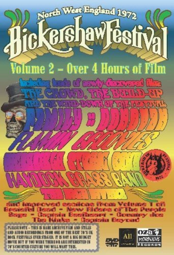 Bickershaw Festival 1972 Vol. 2 Bickershaw Festival 197 DVD Package