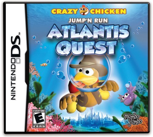 Nintendo Ds Crazy Chicken Atlantis Quest Mumbo Jumbo