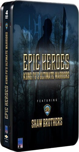 Epic Heroes Kung Fu's Ultimat Epic Heroes Kung Fu's Ultimat Eng Dub Nr 4 DVD Incl. T Shirt Offer