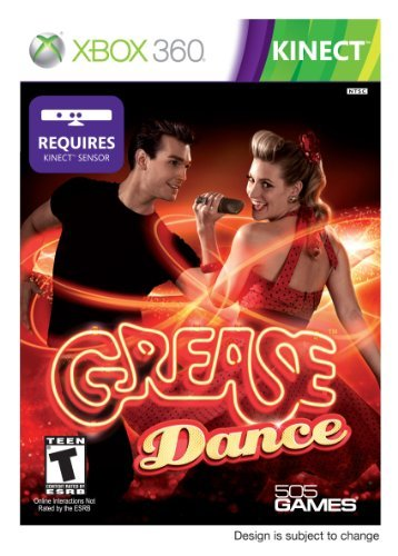 Xbox 360 Kinect Grease Dance 505 Games T