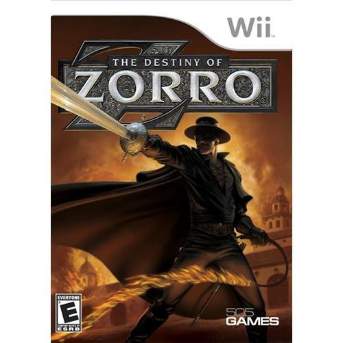 Wii Destiny Of Zorro E10+
