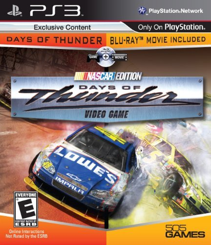 Ps3 Days Of Thunder Game & Movie