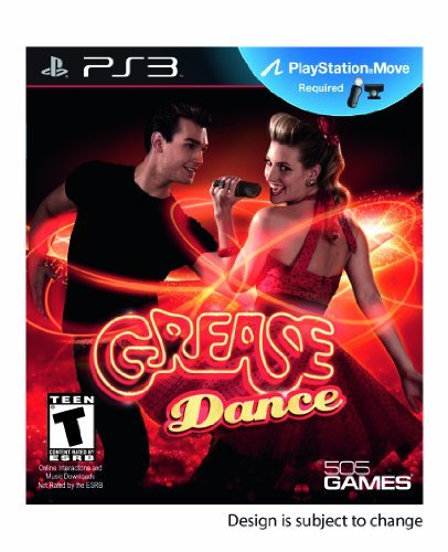 Ps3 Move Grease Dance 505 Games (us) Inc. E