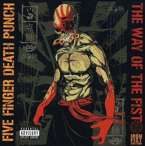 Five Finger Death Punch Way Of The Fist Explicit Version Deluxe Ed. 2 CD Incl. DVD